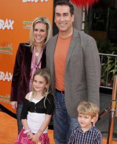Rob Riggle Children, Son, Daughter