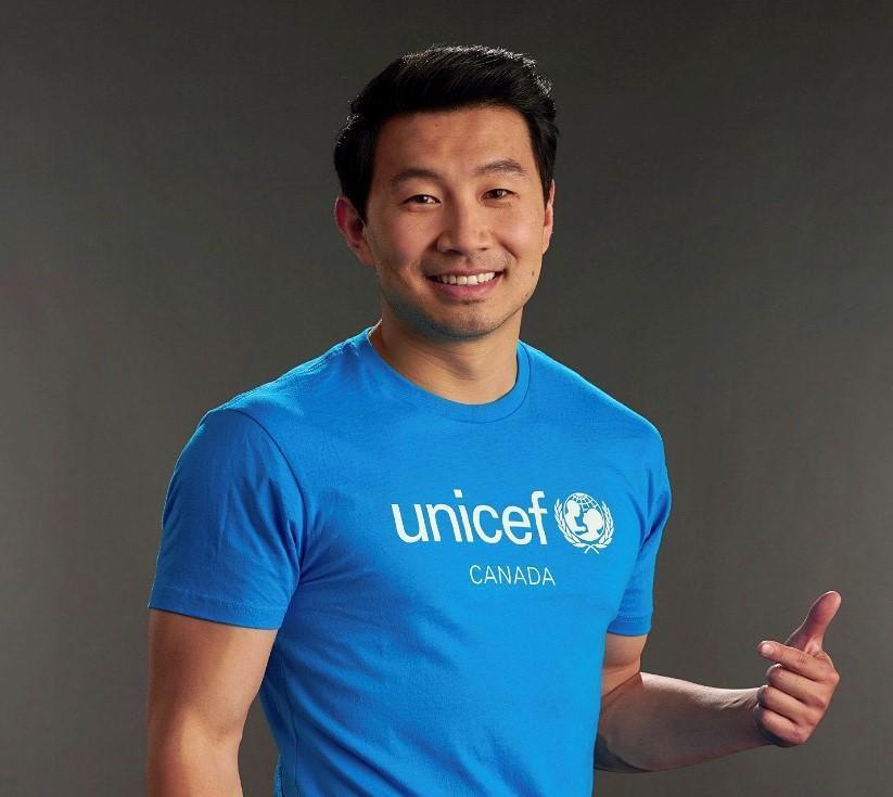 Simu Liu Car UNICEF